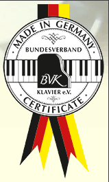 BVK Zertifikat Handmade in Germany