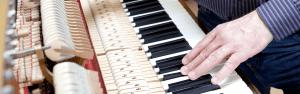 Klavierbauerwerkstatt
