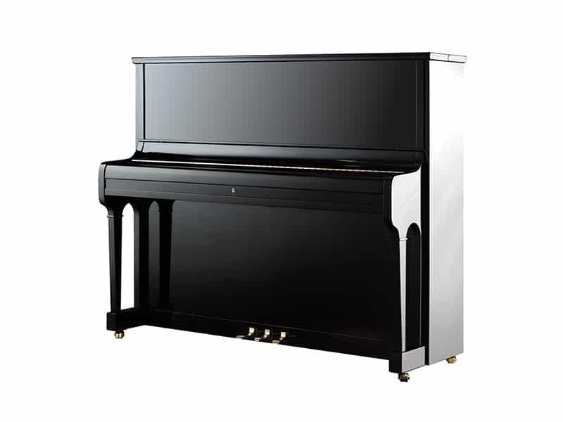 August Förster Klavier 125 G Schwarz