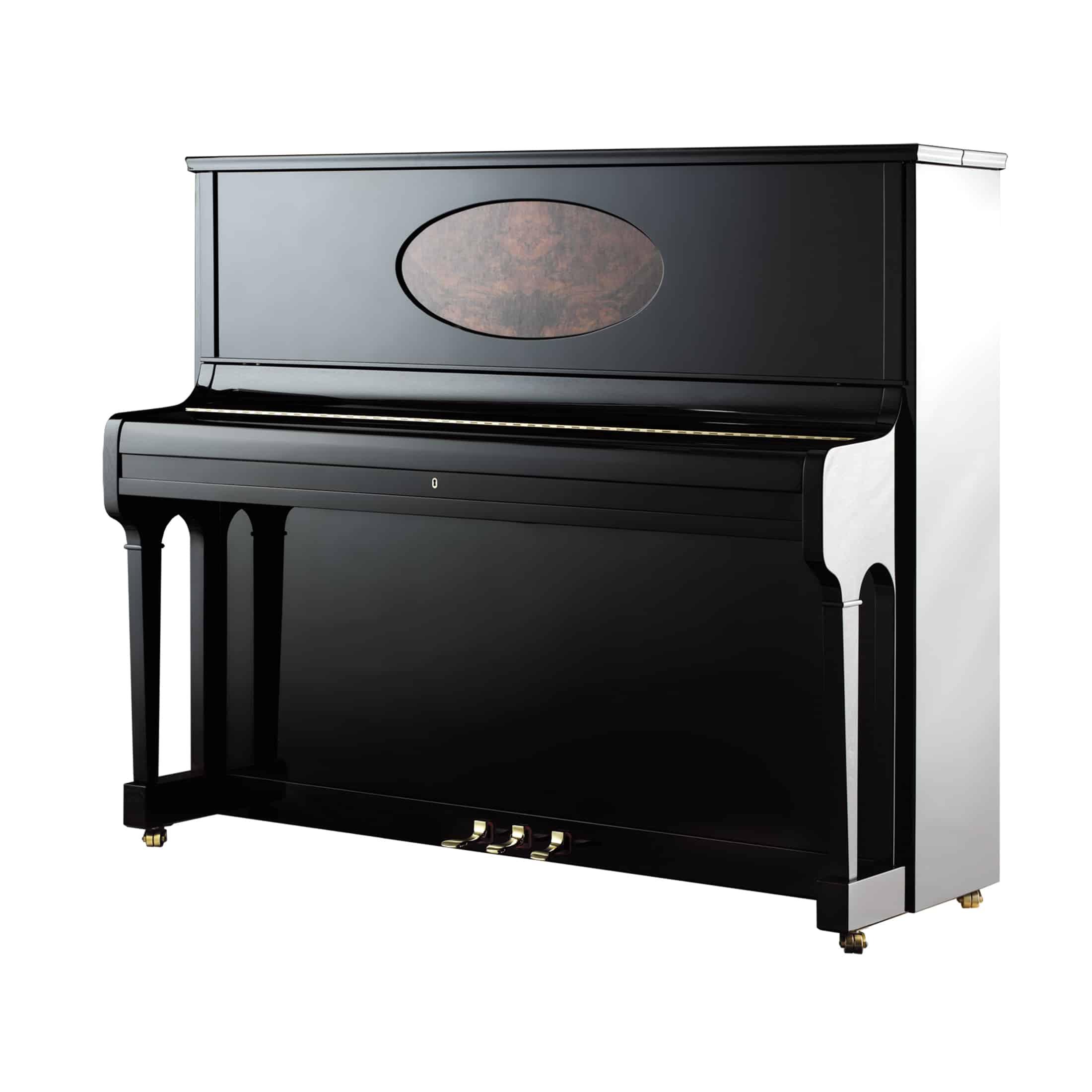 August Förster Klavier 125 G mit Medaillon