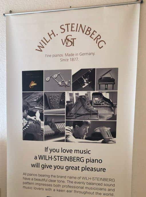 Wilhelm STEINBERG Instrumente - ab sofort auch die Handmade Linie Signature im Angebot