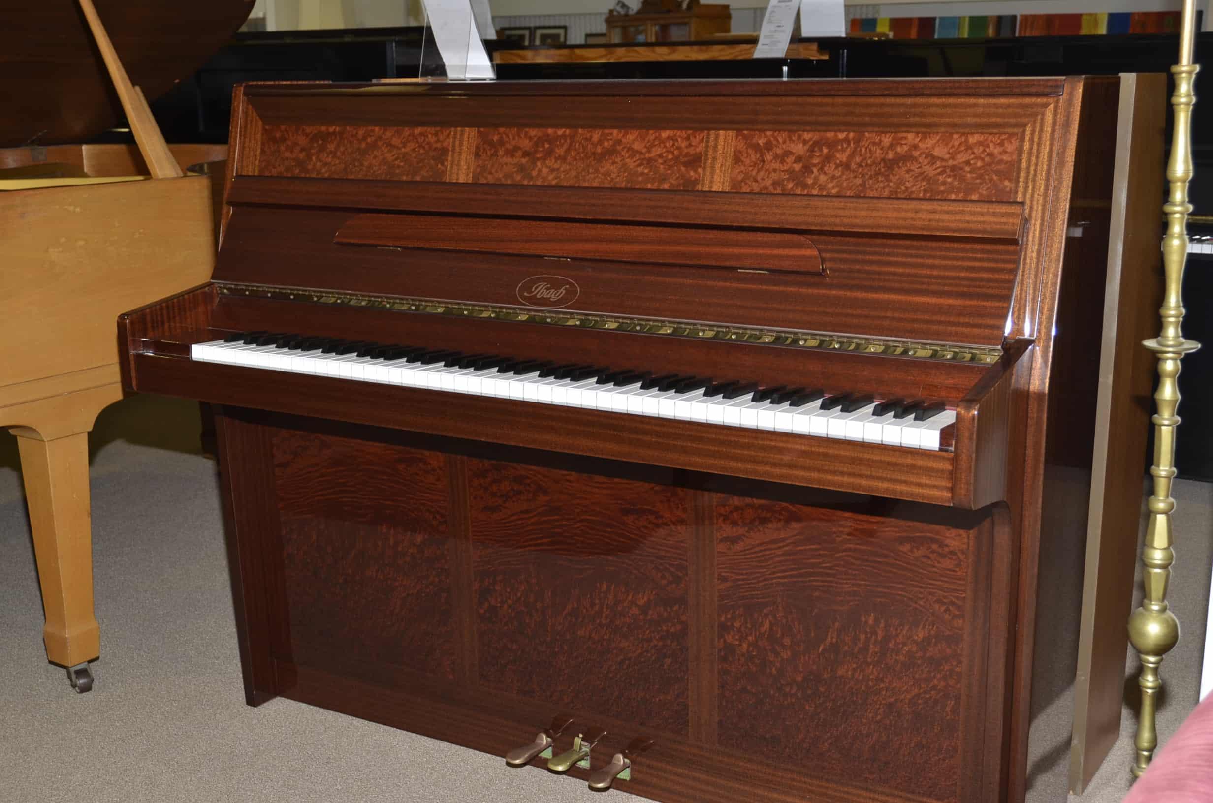 Ibach Klavier 115 Mahagoni poliert